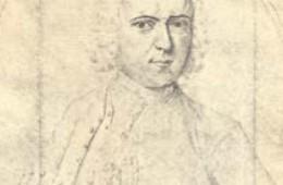 Linné, troligen tecknad av Lars Roberg 1730.