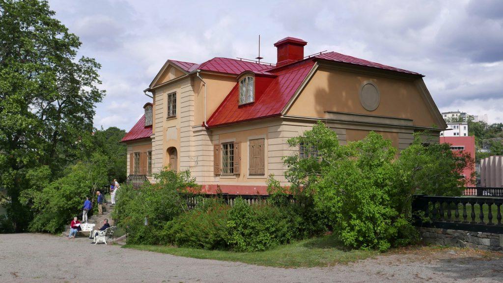 Svindersvik, huvudbyggnad