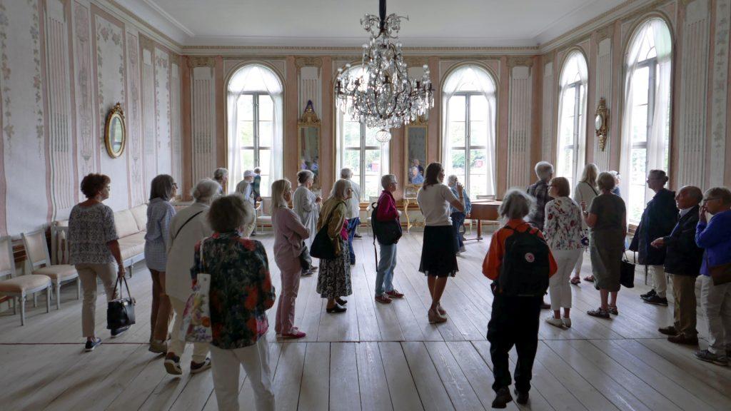 Linnés Vänners resa till Svindersvik 2019. Foto:Rune Björkman