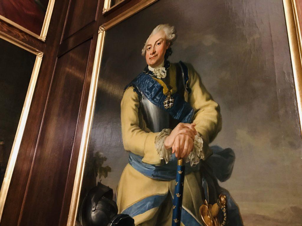 Porträtt av Axel von Fersen d.ä. (1719-1794), ledare för hattpartiet och lantmarskalk.