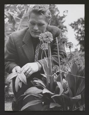 Trädgårdsmästare Gunnar Petersson