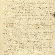 Brev från Linné till Bäck, 24 mars 1744.
